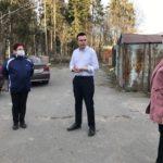 Встреча Ройне Изюмова с жителями Кукковки